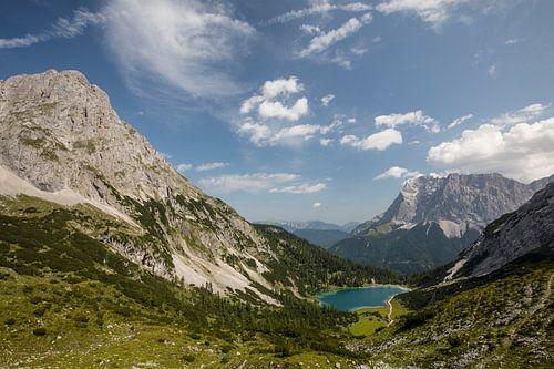 Sebensee mit Zugspitze von