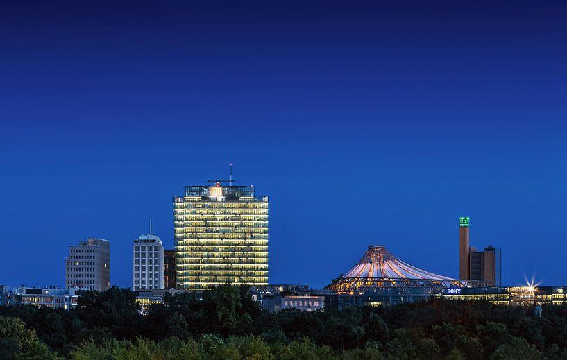 Potsdamer Platz Skyline Berlin sur Frank Herrmann
