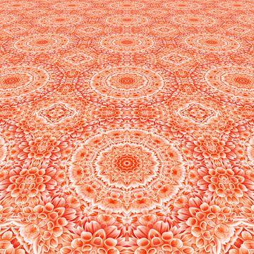 Perspective fleurs mandala sur Marion Tenbergen