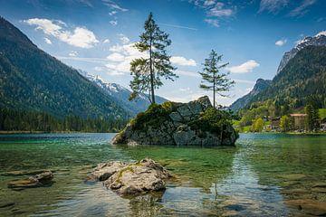 Frühling am Alpensee von Martin Wasilewski