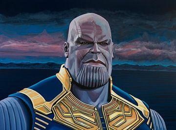 Thanos Malerei von Paul Meijering