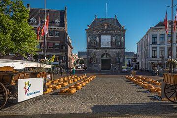 Kaasmarkt  Gouda van Rinus Lasschuyt Fotografie