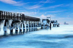 Eis an der Seebrücke Binz