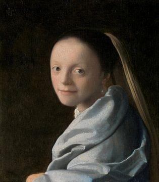 Meisjeskopje, Johannes Vermeer sur