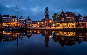Hafen von Lemmer von Wim Brauns