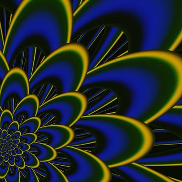 bloem 2 van Claudia Gründler