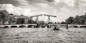 """""""Eine Brücke, können Sie zurück .."""" (The Skinny Bridge in Amsterdam) von"""