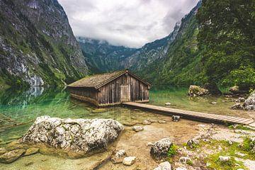 Bootshaus am Obersee von Salke Hartung