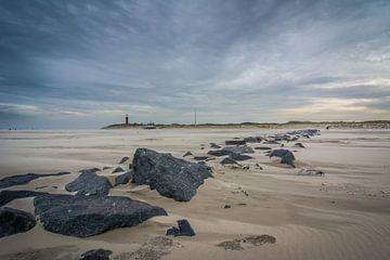 Storm op het strand 03 sur Arjen Schippers