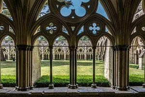 Doorkijkje Salisbury Cathedral van