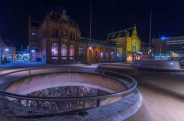 Hauptbahnhof Groningen (Die Niederlande) von Marcel Kerdijk