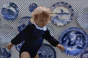 Delfts Blauw van Miriam Duda