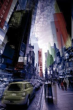New York - Vibrant City van Mark Isarin | Fotografie