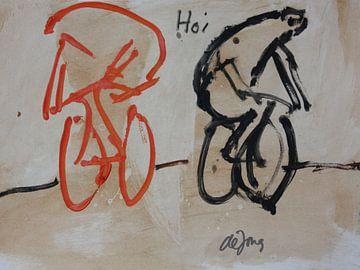 Hoi, (Hallo!)  von Leo de Jong