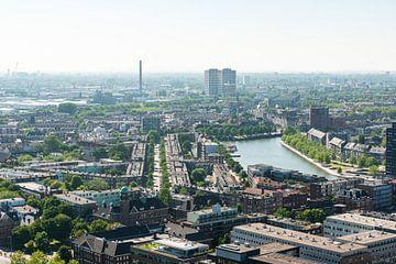 Rotterdam vanaf de Euromast.