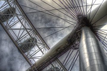 Onder de London Eye van