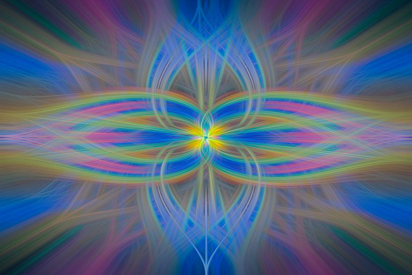 Digital abstract nr 3 van Leo Luijten