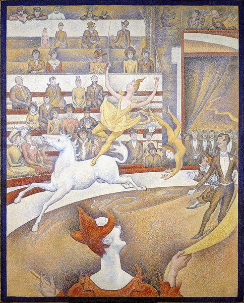 Georges Seurat. Le Cirque  van 1000 Schilderijen