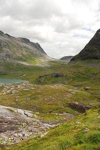Weg 63 bij Trollstigen Noorwegen