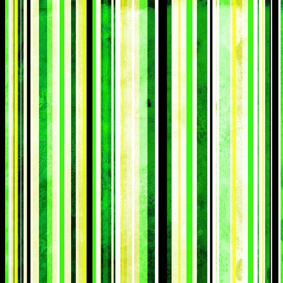 Striped art yellow, lime  and black
