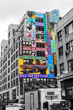 New Yorker Straßenkunst von Evy Bakker