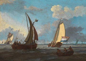 Adam Silo.~Niederländische Schifffahrt aus den Niederlanden