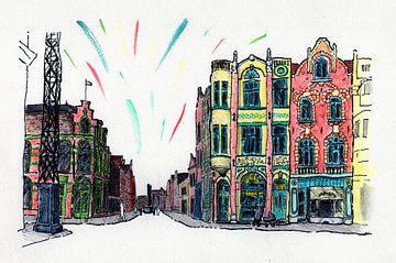 Venlo Centrum, Meropole 1920 van BFQ