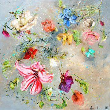 Fliegende Blumen