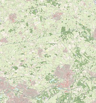 Kaart van Dinkelland