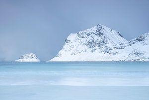 Kustlandschap in Noorwegen van Charlotte Jalvingh