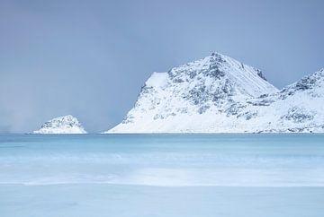Küstenlandschaft in Norwegen von Charlotte Jalvingh