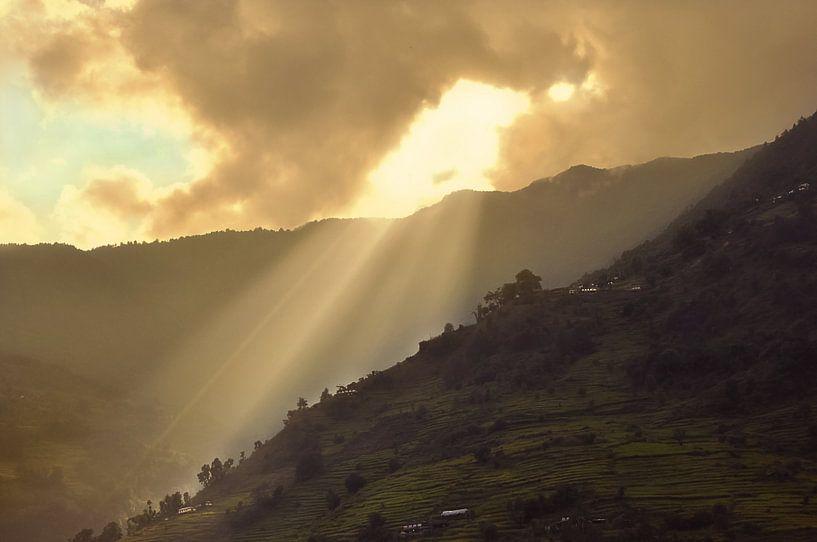 Nepal van Dennis Timmer
