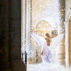 Engel sind unter uns. von Uwe Frischmuth