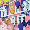 Un zeste de poesie, 2015, (screen printing) van Anne Storno thumbnail