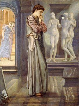 Edward Burne-Jones - Pygmalion and the Image - The Heart Desires sur