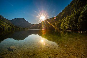 Sonne auf dem Wasser von Kevin Baarda