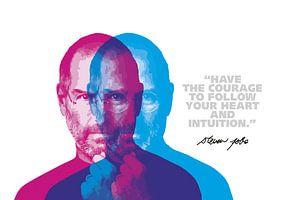 Steve Jobs Quote von Harry Hadders
