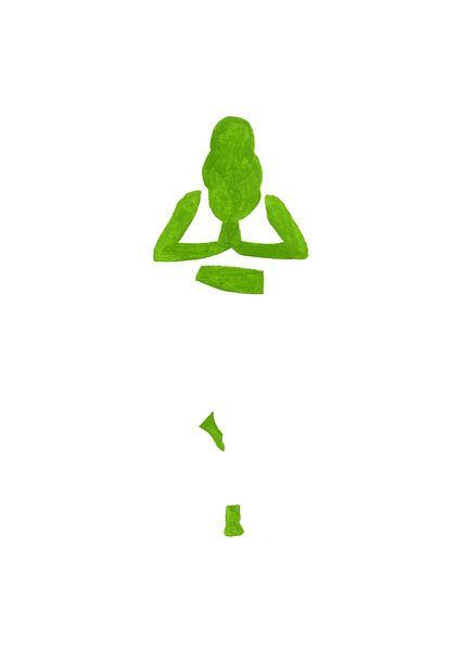 Negative yoga van Rene Hamann