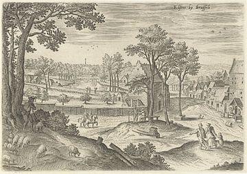 Hans Collaert (I), Ansicht von Ixelles 2