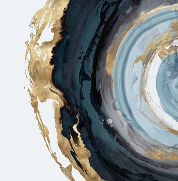 Geo Circle, Eva Watts  van PI Creative Art