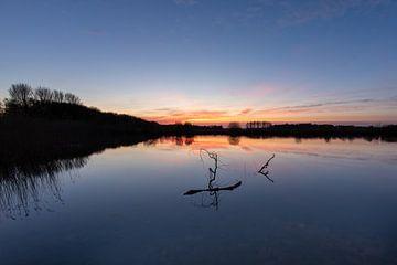 Geestmerambachter See bei Alkmaar von Peter Haastrecht, van