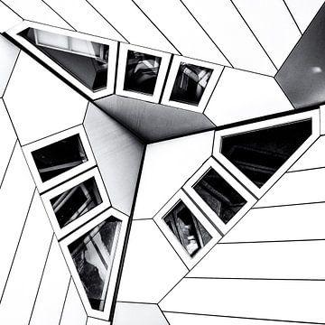 Cube House | detail  von Rob van der Pijll