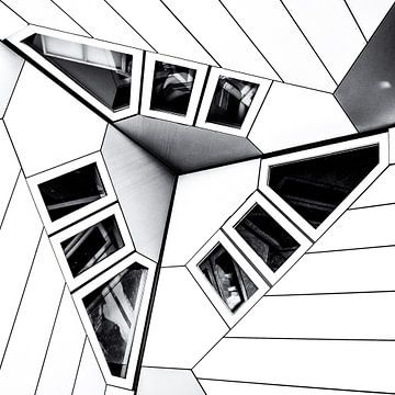 Cube house | detail sur Rob van der Pijll