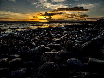 Zonsondergang op het Schotse eiland Arran van René Piersma