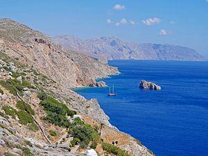 Agia Anna Beach - Amorgos - Griechenland von Liefde voor Reizen