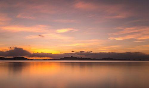 Sunset @ Lake Titicaca (Peru)