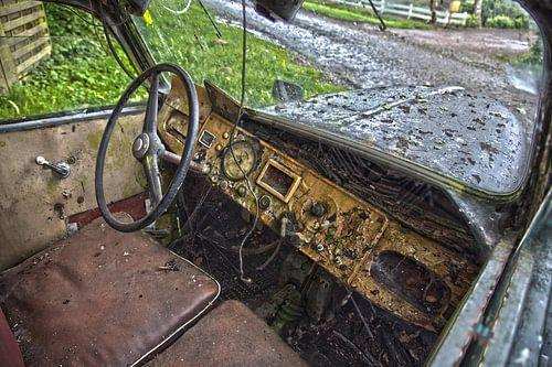 Oude auto van