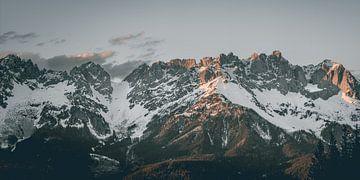 Bergtoppen Panorama van Sophia Eerden