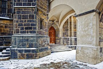 ingang Sint-Vituskathedraal von Rene du Chatenier
