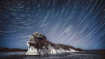 Sternenspur OlChon Sibirien von Peter Poppe